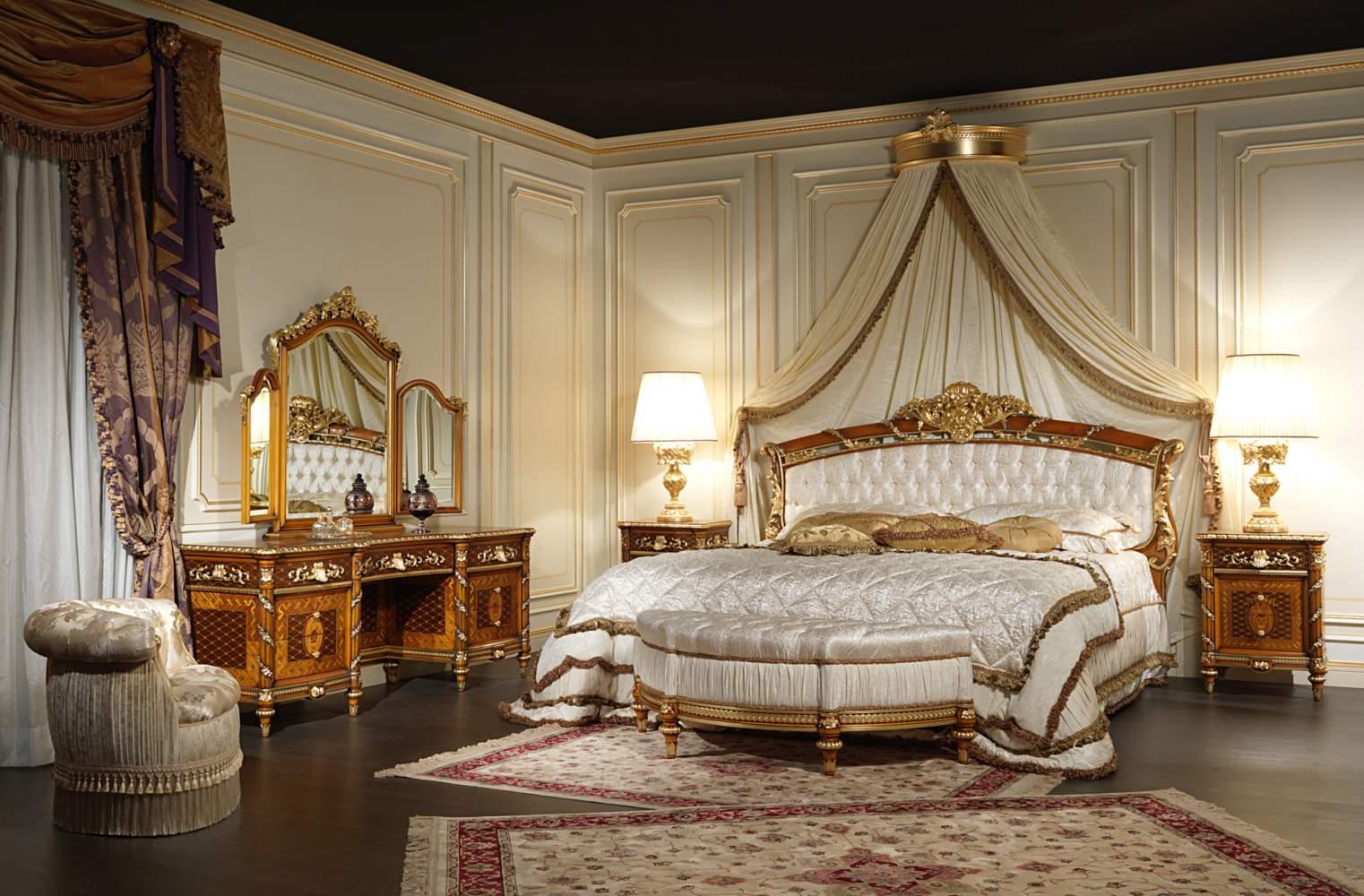 Спальни королевские фото с ценой